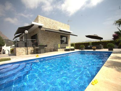 Photo for Polop Villa, Sleeps 4 with Pool, Air Con and Free WiFi