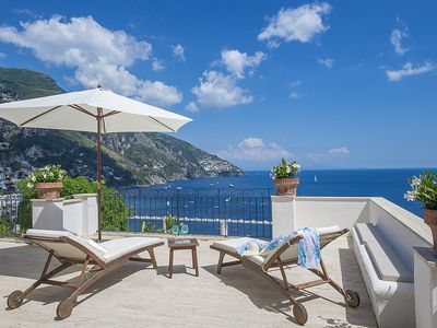 Photo for Villa Carinzia: A splendid two-story villa which faces the sun and the sea, with Free WI-FI.