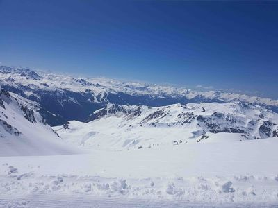 Photo for La Plagne - 2 rooms 4/5 people - Foot of tracks