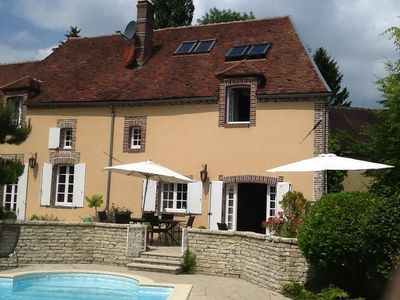 Photo for with heated pool and view, ideal family
