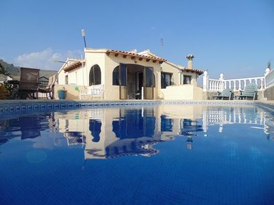 Photo for Fabulous Villa with Private Pool, Sea Views, Bar area and brand new studio