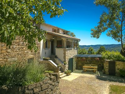 Photo for Apartment located in Istria's beautiful green inland, near Motovun and Buzet