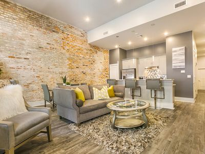 Photo for Newly renovated, spacious Warehouse District condo steps from FQ & MS River