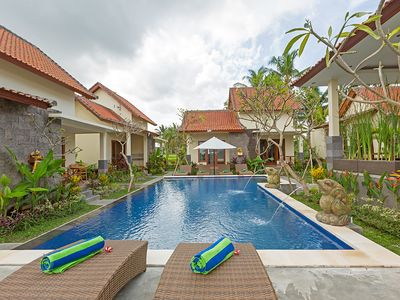 Photo for Separated 2 Bedroom Superior Bungalow Ubud