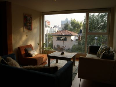 Photo for Natural-light filled apt. for 2 or 4 in Condesa