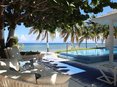 Photo for Amazing beach villa,  with free electric car to explore the island