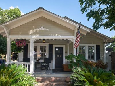 Photo for Merlot Cottage, Zink Haus - Three Cottages in Downtown New Braunfels