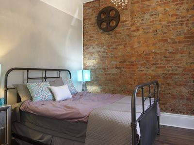 Photo for Downtown Hamilton 2 Bedroom Private Home With Fenced Deck- Chic And Comfortable