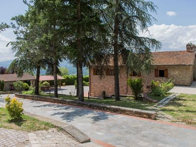 Photo for Villa with swimming pool at the gates of the Casentinesi Forests National Park