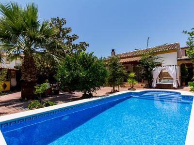 Photo for Beautiful Rural House with private pool and garden