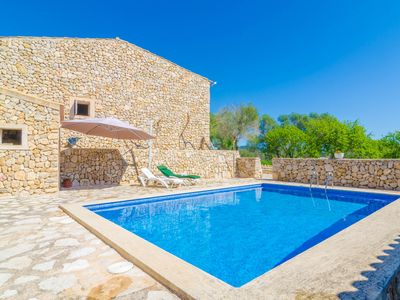 Photo for SON RAMON - Villa with private pool in SANT JOAN.