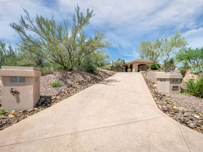 Photo for NEW & REDUCED PRICING - Secluded Troon Area Hilltop Residence