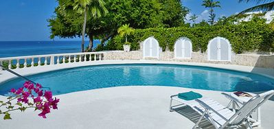 Photo for Villa Whitegates  -  Beach Front - Located in  Magnificent Saint James with Private Pool