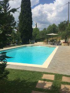 "Photo for Villa ""Colombaiolo di Marciano"", 28 with garden and swimming pool near the center of Siena"