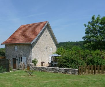 Photo for Idyllic 16th Century Stone Cottage.