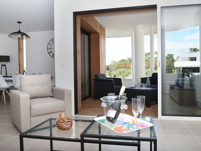 Photo for Very nice new apartment T3, 2 bathrooms, 2 WCs, in the heart of Biarritz