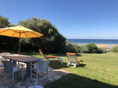 Photo for House 4 people - Facing the sea - direct access to the beach - CLOHARS-CARNOËT