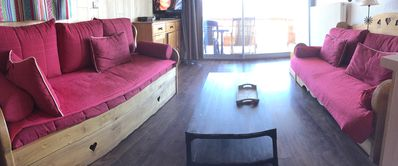 Photo for Very comfortable apartment at the foot of the slopes breathtaking views ideal for 2 shots