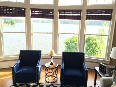Photo for Penthouse Cuscowilla Condo Lake Front 3BR + loft/3BA