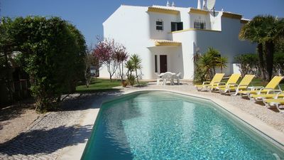 Photo for Luxury 3 bed Villa with large private pool & gardens,10 mins walk to the beach