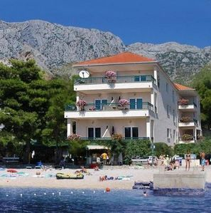 Photo for Apartments directly on the beach, Dalmatina apartments directly by the sea
