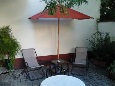 aperitiv corner in the  green\.relax in one of the quietest place of the city