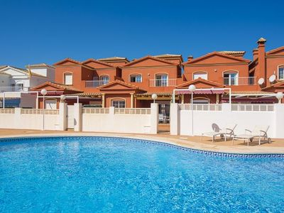 Photo for 4 bedroom Villa, sleeps 8 with Pool, Air Con and Walk to Beach & Shops