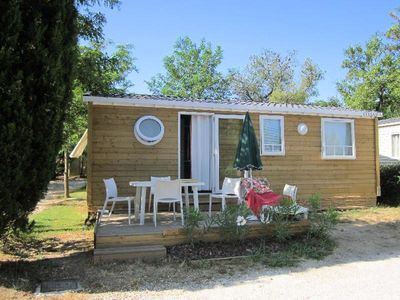 Photo for Camping Lou Pantaï *** - Comfort Lodge 4 rooms 6 persons