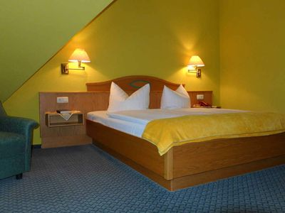 "Photo for Double Room Category E - Landhotel ""Neuwiese"" with traditional inn ""At the Mill"""
