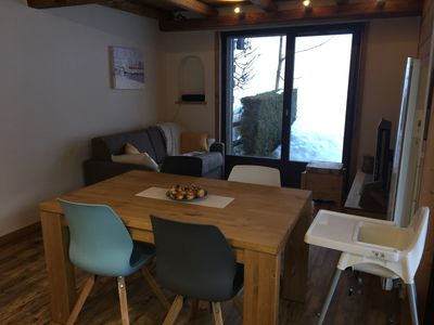 Photo for 3 rooms with garden at the foot of the slopes