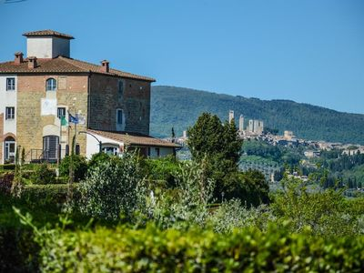Photo for Panoramic apartments for up to 4 guests only 20 minutes to San Gimignano