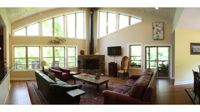 Photo for Luxury in the Woods - just 6 miles from downtown Asheville