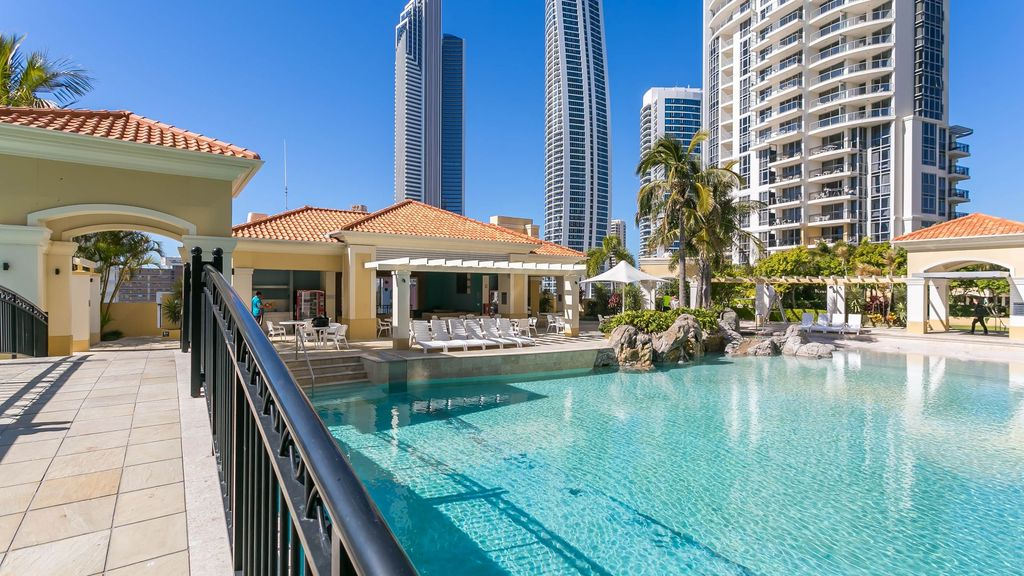 2 Bedroom Apartment Chevron Towers Gold Coast 9192486 Abritel