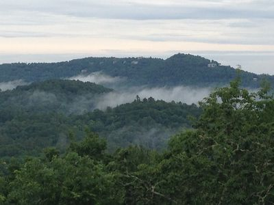 Photo for Wonderful home with a fantastic mountain view- on 4+ wooded acres