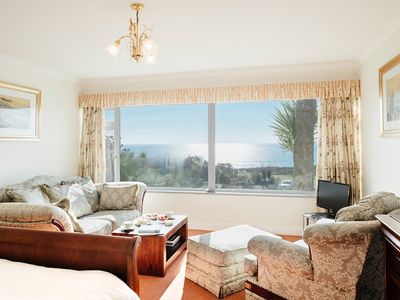 Photo for One Bedroom Apartment With Stunning Sea Views and Parking
