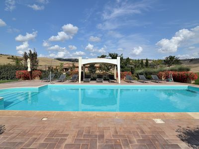 Photo for Whole big Tuscan Villa with Pool & Vineyards in the Heart of Tuscany