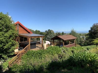 Photo for Elevated, resort holiday paradise, in the hills of Te Mata Peak.
