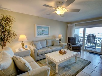 Photo for Beautiful Condo w/Private Balcony, Pool, Private Beach Access, Sauna & More!