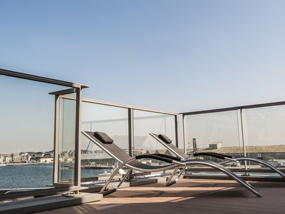 Photo for Le Charcot apartment - 6 people - 2 bedrooms - terrace - harbor view