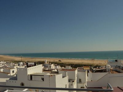 Photo for Modern townhouse with sea views, large roof terrace with shower ** WiFi ** ** AIR