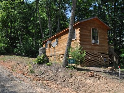 Photo for Secluded But Convenient Cabin Near Asheville and Parkway