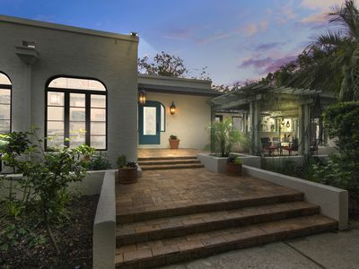 Photo for Charming, Historic Spanish Mission Cottage in Olde Winter Park