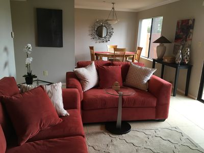 Golf course view, 2 bed/1bath condo. Cable/Wifi, ground floor. Newly furnished.
