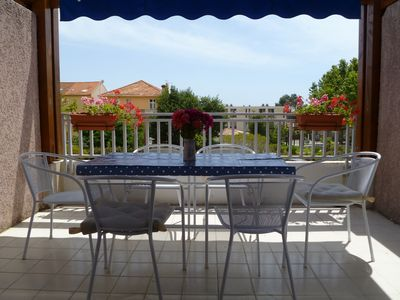 Photo for Two Bedroom Family Apartment With Large Terrace, Sea Views, 4 mins. to beach
