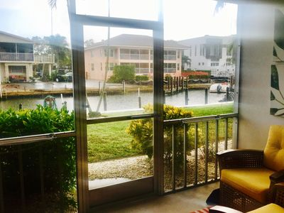 Photo for Newly listed Canal Front Condo near downtown Naples 30 day minimum stay