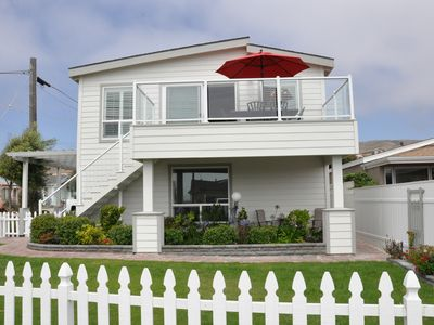 Photo for Beautifully Remodeled Beach House Steps from the Beach