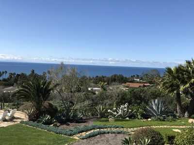 Ocean view, yard view, looking toward Channel Islands