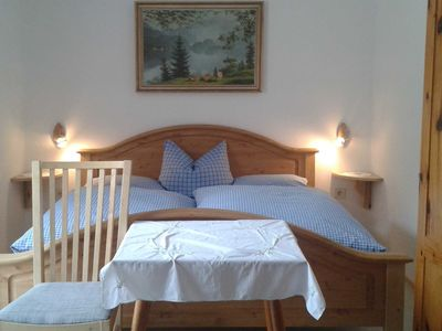 Photo for Double room without shower and toilet - Organic farm Seemanngut