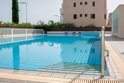 Large Pool with Easy Access Steps