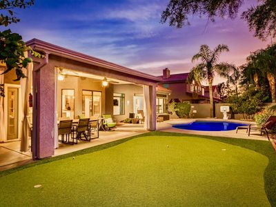 Photo for Exquisite Home in Kierland. Family Favorite w/ Heated Pool, Mini Golf Course & More!